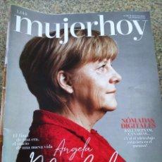 Coleccionismo de Revistas y Periódicos: REVISTA MUJER HOY -- Nº 1144 -- ANGELA MERKELL --. Lote 268410929