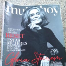 Coleccionismo de Revistas y Periódicos: REVISTA MUJER HOY -- Nº 1132 -- GLORIA STEINEM --. Lote 268411279