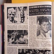 Coleccionismo de Revistas y Periódicos: ELIZABETH TAYLOR LIZ RICHARD BURTON. Lote 268411904