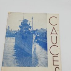 Coleccionismo de Revistas y Periódicos: CAUCES. REVISTA MENSUAL. Nº 17. PUBLICIDAD DE CADIZ. 1938. LEER.. Lote 268608499