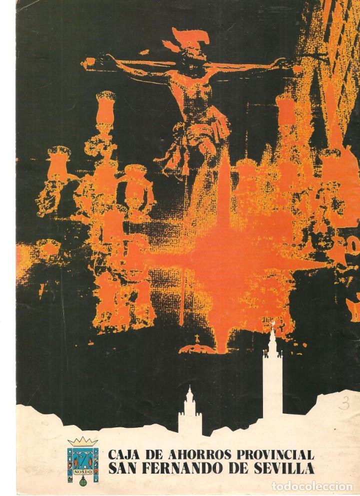 Coleccionismo de Revistas y Periódicos: SEMANA SANTA DE SEVILLA, 1979. CAJA DE AHORROS SAN FERNANDO. (Z/16) - Foto 2 - 268616559