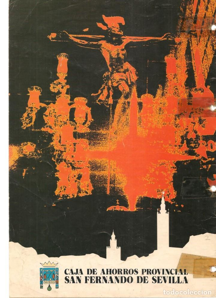 Coleccionismo de Revistas y Periódicos: SEMANA SANTA DE SEVILLA, 1979. CAJA DE AHORROS SAN FERNANDO. (Z/16) - Foto 2 - 268616629