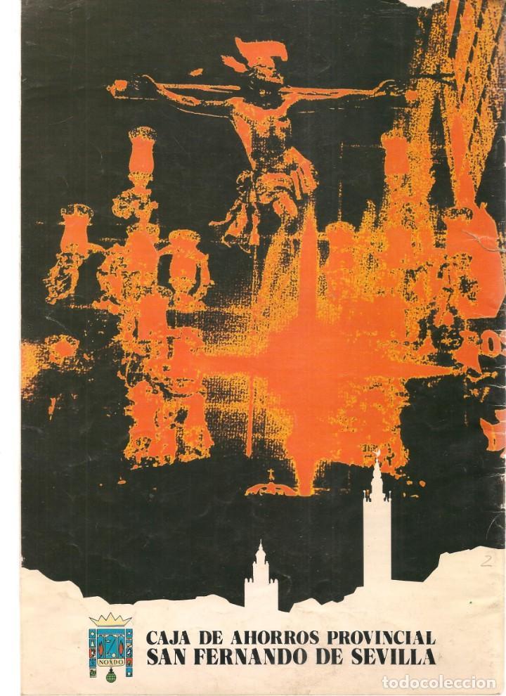 Coleccionismo de Revistas y Periódicos: SEMANA SANTA DE SEVILLA, 1979. CAJA DE AHORROS SAN FERNANDO. (Z/16) - Foto 2 - 268616694