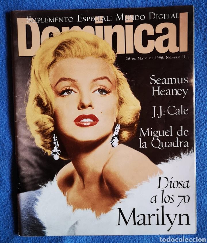 MARILYN MONROE - EL DOMINICAL - 26 05 1996 (Coleccionismo - Revistas y Periódicos Modernos (a partir de 1.940) - Otros)
