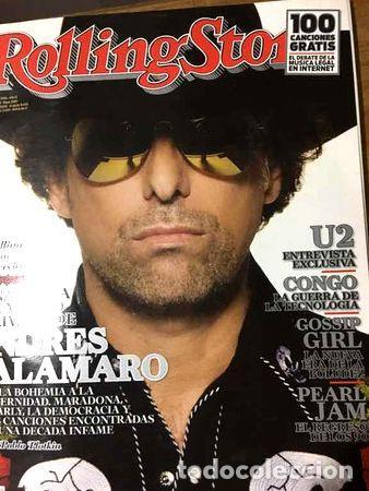 REVISTA ROLLING STONE ANDRES CALAMARO 2009 (Coleccionismo - Revistas y Periódicos Modernos (a partir de 1.940) - Otros)