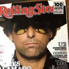 Coleccionismo de Revistas y Periódicos: REVISTA ROLLING STONE ANDRES CALAMARO 2009. Lote 268638189