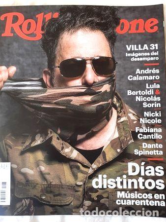 REVISTA ROLLING STONE N 267 ANDRES CALAMARO JUNIO 2020 (Coleccionismo - Revistas y Periódicos Modernos (a partir de 1.940) - Otros)