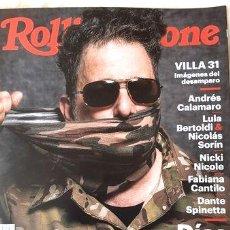 Coleccionismo de Revistas y Periódicos: REVISTA ROLLING STONE N 267 ANDRES CALAMARO JUNIO 2020. Lote 268653679