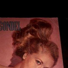 Coleccionismo de Revistas y Periódicos: REVISTA ANTIGUA GONDEL ALEMANA ANO 1954 MARILYN MONROE. Lote 268660274