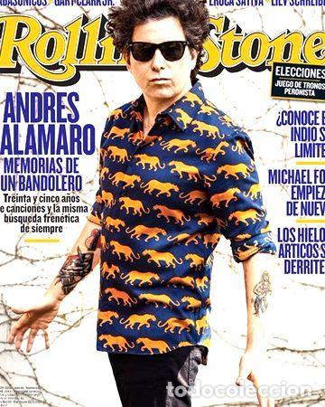 REVISTA ROLLING STONE 187 OCTUBRE 2013 ANDRES CALAMARO (Coleccionismo - Revistas y Periódicos Modernos (a partir de 1.940) - Otros)