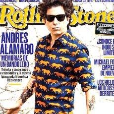 Coleccionismo de Revistas y Periódicos: REVISTA ROLLING STONE 187 OCTUBRE 2013 ANDRES CALAMARO. Lote 268674489