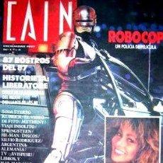 Coleccionismo de Revistas y Periódicos: CAIN 1 ROBOCOP LIBERATORE TINA TURNER INCONSEGUIBLE. Lote 268689509