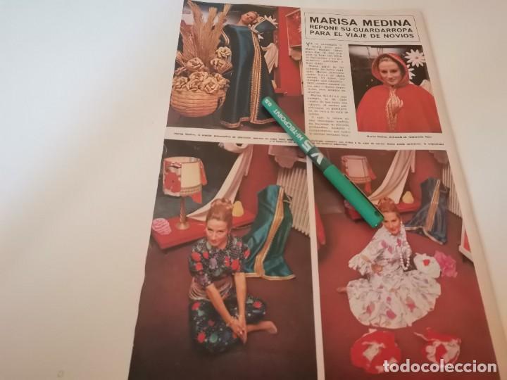 MARISA, MEDINA REVERSO VAJILLA DURALEX 2000 RECORTE REVISTA 1970 (Coleccionismo - Revistas y Periódicos Modernos (a partir de 1.940) - Otros)