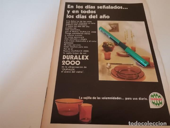 Coleccionismo de Revistas y Periódicos: MARISA, MEDINA REVERSO VAJILLA DURALEX 2000 RECORTE REVISTA 1970 - Foto 2 - 268888794