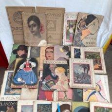 Coleccionismo de Revistas y Periódicos: GRAN LOTE DE REVISTAS BLANCO Y NEGRO 1915-1927!. Lote 268890294