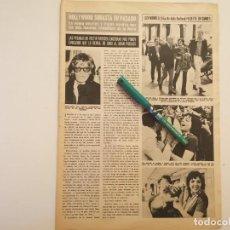 Coleccionismo de Revistas y Periódicos: GRETA GARBO, LIZA MINNELLI REVERSO LENCERÍA SUJETADOR PLAYTEX CRUZADO MAGICO CON RELLENO 1970. Lote 268891094
