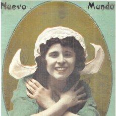 Coleccionismo de Revistas y Periódicos: 1913 HOJA REVISTA PORTADA ARTISTA CANTANTE TIPLE MEJICANA ESPERANZA IRIS. Lote 268914954