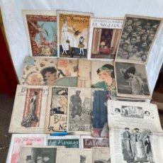 Collectionnisme de Revues et Journaux: GRAN LOTE REVISTAS ESPAÑOLAS 1890-1930!. Lote 268939174