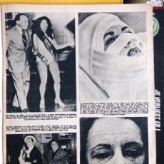 Coleccionismo de Revistas y Periódicos: ELIZABETH TAYLOR LIZ SILVANA PAMPANINI BOB HOPE MISS MUNDO ESTADOS UNIDOS LEXIE BROCKWAY. Lote 268963609