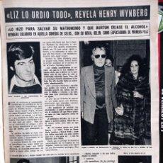 Coleccionismo de Revistas y Periódicos: ELIZABETH TAYLOR LIZ RICHARD BURTON. Lote 268964489
