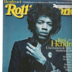 Coleccionismo de Revistas y Periódicos: ROLLING STONE. Nº 126. JIMI HENDRIX. ABRIL, 2010. (B/58). Lote 268965539