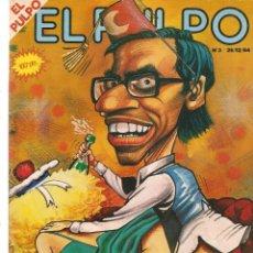 Coleccionismo de Revistas y Periódicos: EL PULPO. Nº 3. FELIZ AÑO NUEVO. 26 DCIEMBRE 1984. (B/58). Lote 268966734