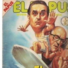 Coleccionismo de Revistas y Periódicos: EL PAPUS. REVISTA SATÍRICA Y NEURASTENICA. Nº 433. EL GOBIERNO DE VACACIONES. 30 AGOSTO 1982. (B/58). Lote 268967564