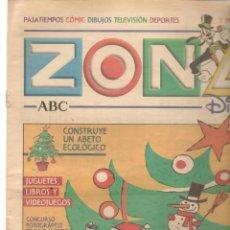 Coleccionismo de Revistas y Periódicos: ZONA DISNEY. ABC. Nº 44. GUÍA PARA NAVIDAD. 22 DICIEMBRE 2002. (B/58). Lote 268969164
