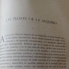 Coleccionismo de Revistas y Periódicos: LAS FLORES DE LA ALQUIMIA. POR JOSE RODRIGUEZ MOURELO . AÑO 1907.. Lote 268970024