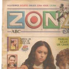 Coleccionismo de Revistas y Periódicos: ZONA DISNEY. ABC. Nº 46. TIZIANO FERRO. 5 ENERO 2003. (B/58). Lote 268970259
