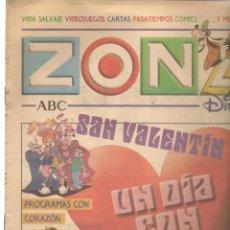 Coleccionismo de Revistas y Periódicos: ZONA DISNEY. ABC. Nº 51. PAULINA RUBIO ( CONTRP. LA BELLA Y LA BESTIA) 9 FEBRERO 2003. (B/58). Lote 268971294