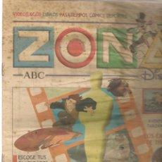 Coleccionismo de Revistas y Periódicos: ZONA DISNEY. ABC. Nº 57. LOS ÉXITOS DE THALÍA. 23 MARZO 2003. (B/58). Lote 268972919