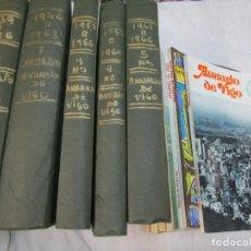 Coleccionismo de Revistas y Periódicos: 33 NUMEROS CORRELATIVOS ' ANUARIO DE VIGO ' 1939 Nº 1 A 1974 INC, 26 ENCUADERNADOS + INFO. Lote 268975884