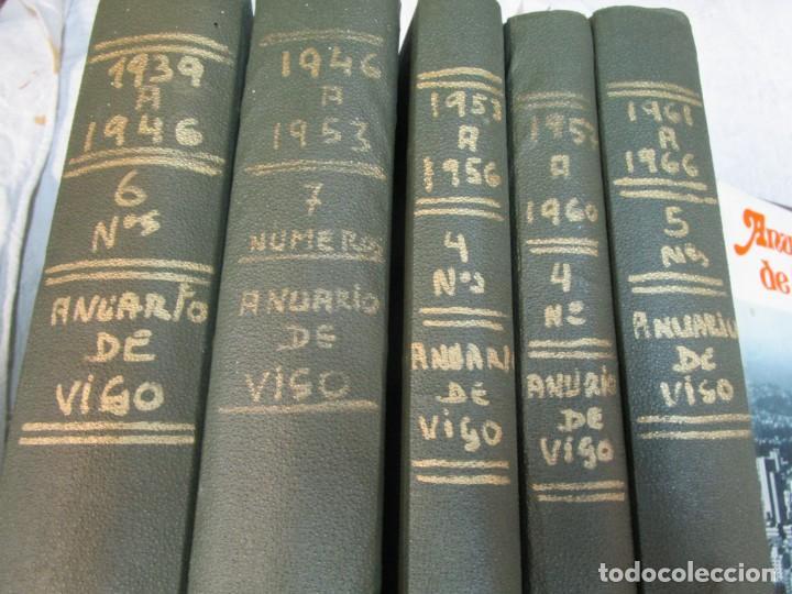 Coleccionismo de Revistas y Periódicos: 33 NUMEROS CORRELATIVOS ANUARIO DE VIGO 1939 Nº 1 A 1974 INC, 26 ENCUADERNADOS + INFO - Foto 2 - 268975884
