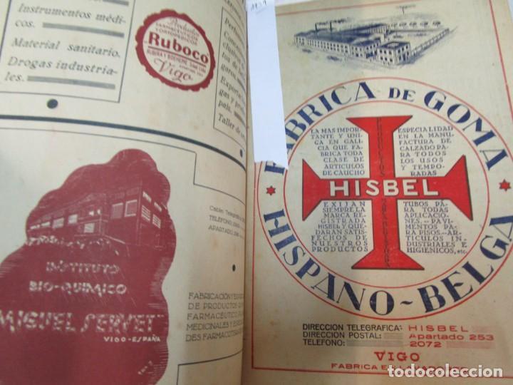 Coleccionismo de Revistas y Periódicos: 33 NUMEROS CORRELATIVOS ANUARIO DE VIGO 1939 Nº 1 A 1974 INC, 26 ENCUADERNADOS + INFO - Foto 5 - 268975884