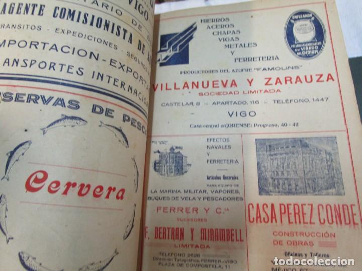 Coleccionismo de Revistas y Periódicos: 33 NUMEROS CORRELATIVOS ANUARIO DE VIGO 1939 Nº 1 A 1974 INC, 26 ENCUADERNADOS + INFO - Foto 6 - 268975884