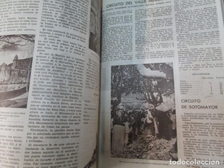 Coleccionismo de Revistas y Periódicos: 33 NUMEROS CORRELATIVOS ANUARIO DE VIGO 1939 Nº 1 A 1974 INC, 26 ENCUADERNADOS + INFO - Foto 9 - 268975884