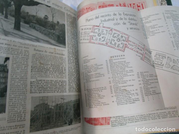 Coleccionismo de Revistas y Periódicos: 33 NUMEROS CORRELATIVOS ANUARIO DE VIGO 1939 Nº 1 A 1974 INC, 26 ENCUADERNADOS + INFO - Foto 11 - 268975884