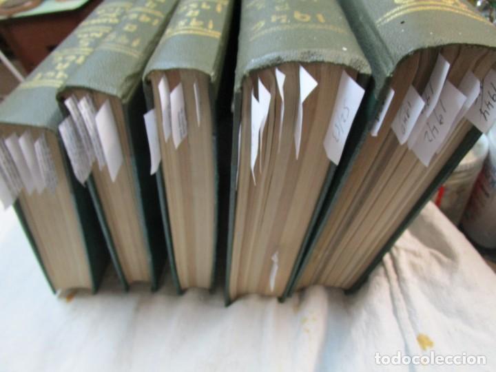Coleccionismo de Revistas y Periódicos: 33 NUMEROS CORRELATIVOS ANUARIO DE VIGO 1939 Nº 1 A 1974 INC, 26 ENCUADERNADOS + INFO - Foto 12 - 268975884