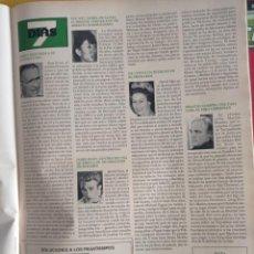 Coleccionismo de Revistas y Periódicos: JAMES DEAN MARLON BRANDO SUU KYI PREMIO NOBEL. Lote 269014299