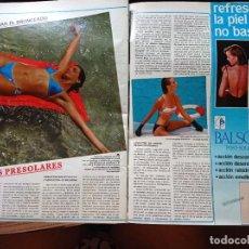 Coleccionismo de Revistas y Periódicos: MOFA BAÑADORES BIKINIS 1985. Lote 269015124