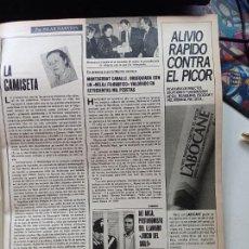 Coleccionismo de Revistas y Periódicos: MONTSERRAT CABALLE. Lote 269015129