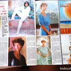 Coleccionismo de Revistas y Periódicos: RACHEL WARD RAQUEL WELCH. Lote 269015174
