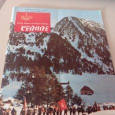 Coleccionismo de Revistas y Periódicos: REVISTA BOLETÍN DE CEDADE (1976) AÑO X NUMERO 70. Lote 269055248