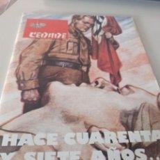 Coleccionismo de Revistas y Periódicos: REVISTA BOLETÍN DE CEDADE (1980) AÑO XII NUMERO 88. Lote 269060608