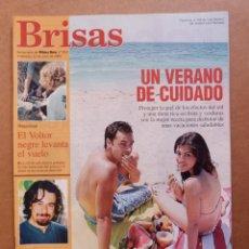Coleccionismo de Revistas y Periódicos: REVISTA BRISAS Nº 952 EL VERANO LOS EFECTOS DEL SOL DAVID GINARD. Lote 269060773