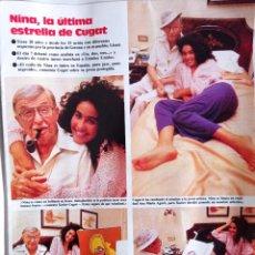 Coleccionismo de Revistas y Periódicos: XAVIER CUGAT CHARO BAEZA NINA RITA HAYWORTH CARMEN MIRANDA BING CROSBY. Lote 269113043