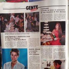 Coleccionismo de Revistas y Periódicos: SARA MONTIEL MARUJITA DIAZ RAQUEL WELCH VAITIARE. Lote 269117313