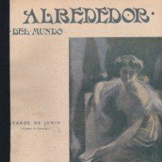Coleccionismo de Revistas y Periódicos: REVISTA ALREDEDOR DEL MUNDO- 1917 * MALACOLOGÍA * XILOLOGÍA * VERDÚN * PARQUES NACIONALES USA *. Lote 269177048