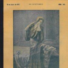 Coleccionismo de Revistas y Periódicos: REVISTA ALREDEDOR DEL MUNDO- 1917 * AIRE COMPRIMIDO * CAÑÓN MONSTRUO * CAOBA *. Lote 269177103